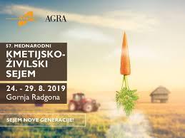 Vabilo na ogled Kmetijsko – živilskega sejma AGRA 2019 v Gornji Radgoni