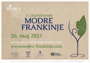 11. mednarodno ocenjevanje modrih frankinj